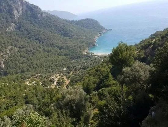 Plot For Sale In Faralya Fethiye With Sea Views, 6750 M2