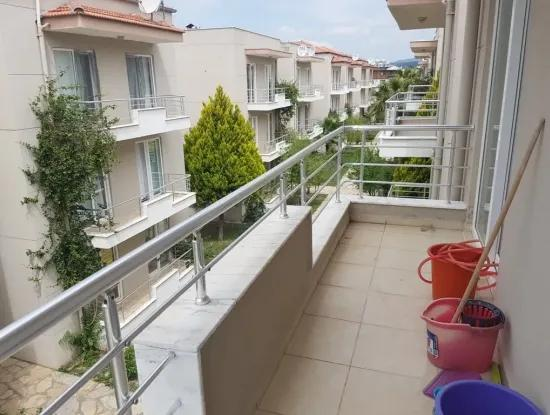A Furnished Apartment With Swimming Pool In Dalaman For Sale, A Bargain 2 + 1