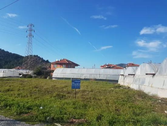 Corner Plot For Sale In Ortaca
