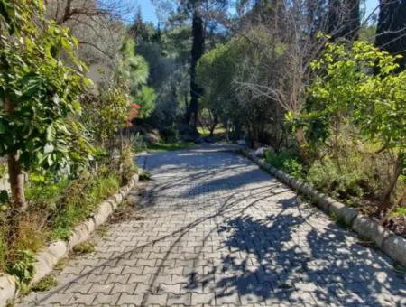 436 M2 Zoning Land With Sea View For Sale In Mugla Göcek
