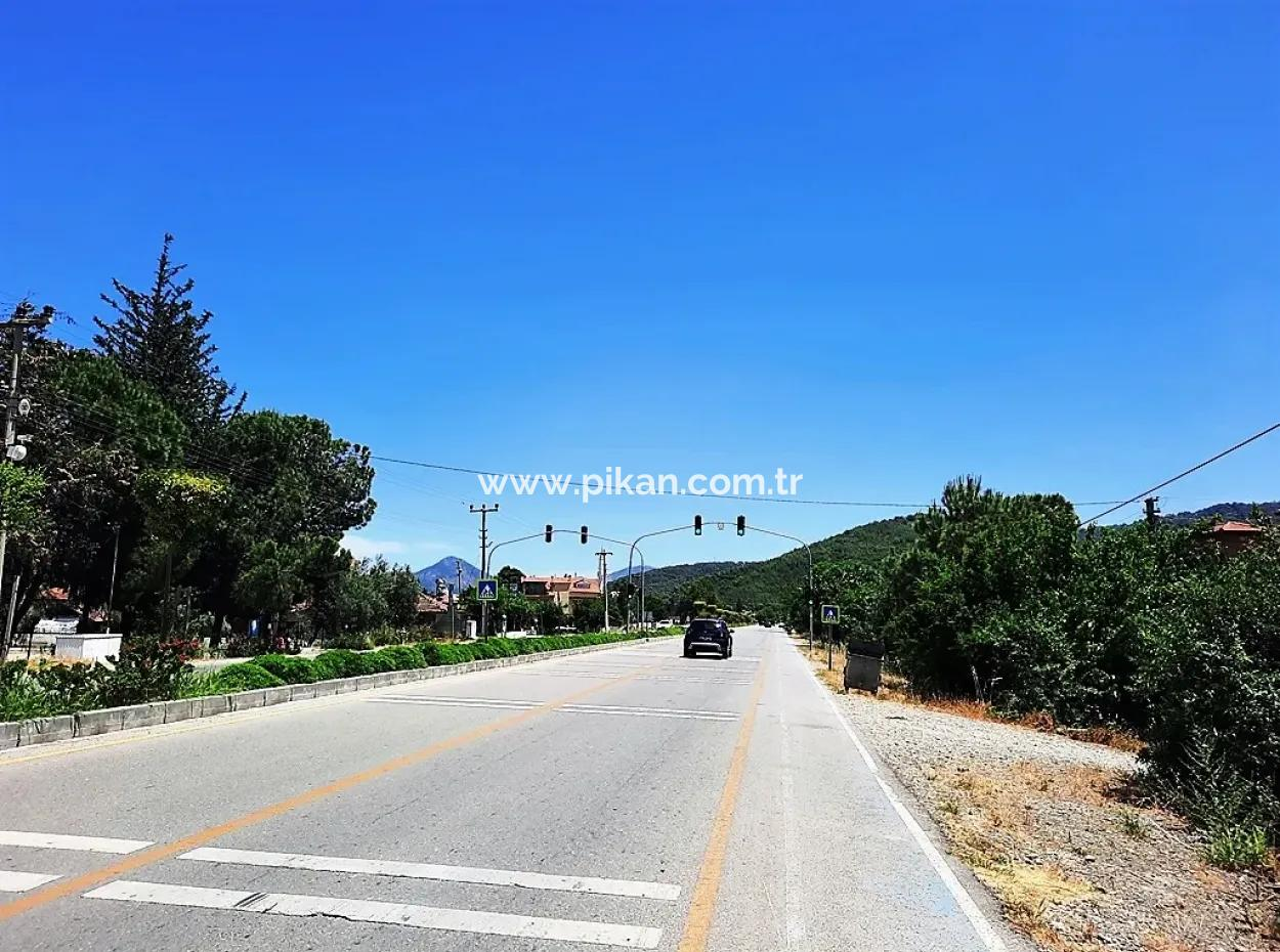 Ortaca Okçularda Dalyan Anayoluna Sıfır 1 500 M2 Yatırıma Uygun Arsa Satılık