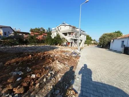 Fethiyede Çalış Plajına Yakın Ticari İmarlı Arsa Satılık