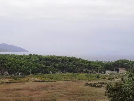 Muğla Ortaca Sarıgermede 880 M2 Full Deniz Ve Doğa Manzaralı Arsa Satılık