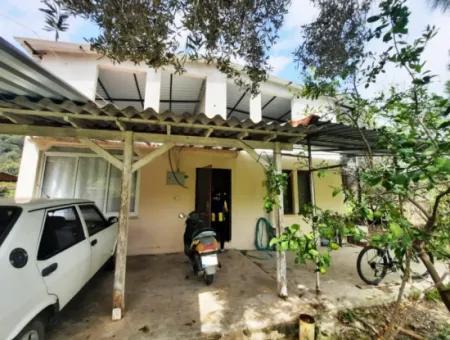Muğla Ortaca Mergenli Köyünde Eşyalı 2+1 Ev Kiralık