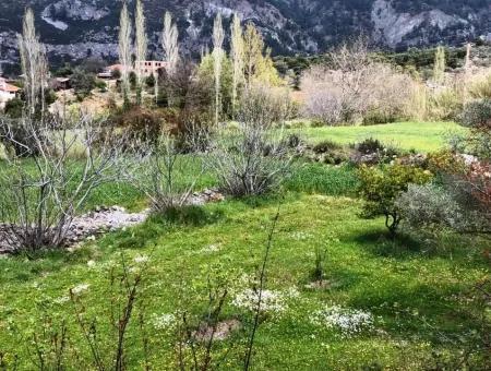 Dalaman Gürleyikte Satılık Taş Köy Evi
