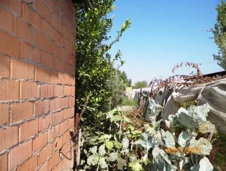 Ortaca Dikmekavakta Satılık Yola Sıfır Köy Evi Ve Arsası